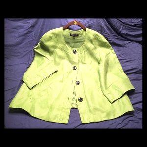 Jones of New York Woman, 3/4 sleeve, swing jacket